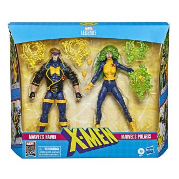 Marvel Legends Series X-Men 2-Pack Havok and Polaris Figure Set